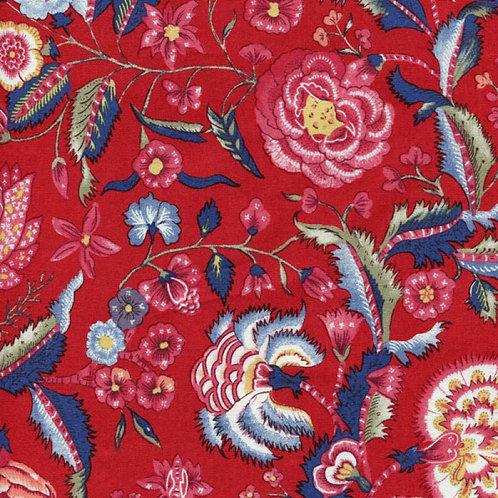 Dutch heritage chintz- red 5000