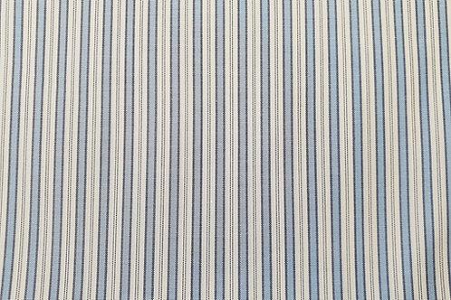 Cotton lining- striped blue E