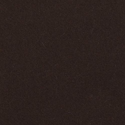 Wool twill-Dark brown