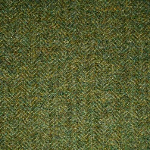 Herringbone wool-dark olive green