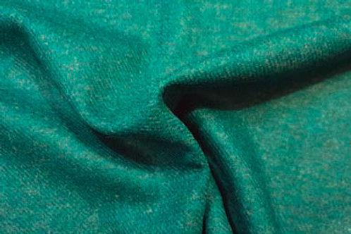 Melange wool twill- teal 03
