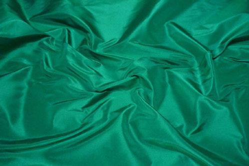 Silk taffeta-green