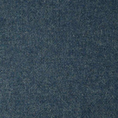 Herringbone wool fabric 100%-gray blue