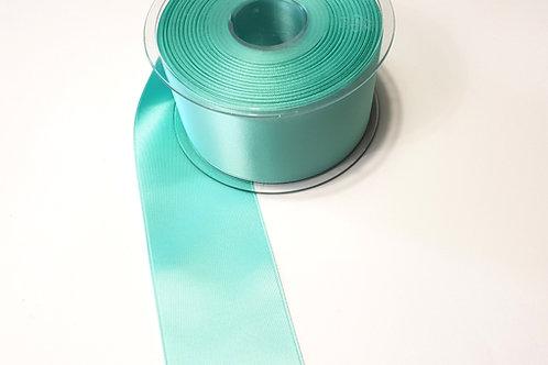 Satin ribbon 50mm- light turqoise