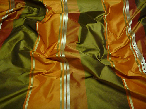 Stripe-green orange