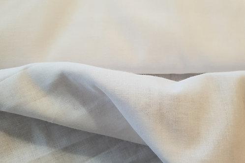 Cotton muslin -white