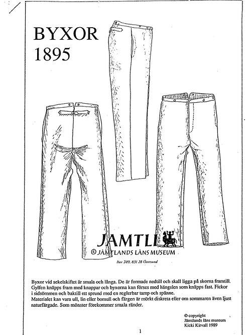 Sewing pattern Jamtli- Pants 1895