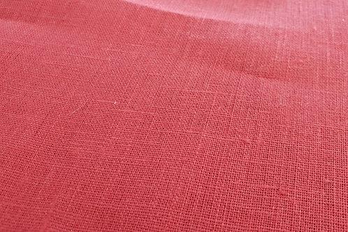 Medium prewashed linen 185g-dark red