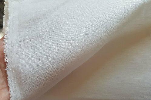 Cotton/linen 180g-white
