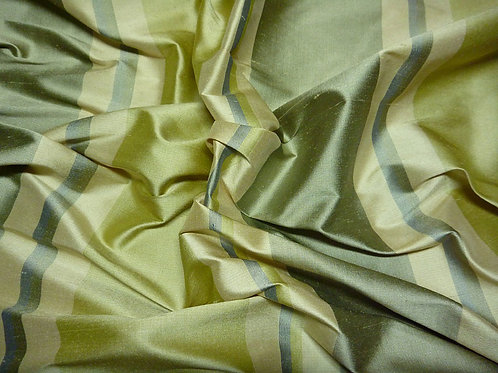 Silk-stripe green
