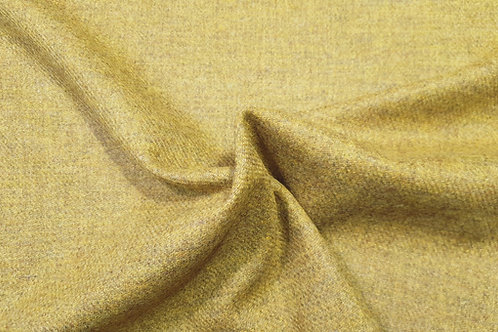 Melange wool twill- yellow 17
