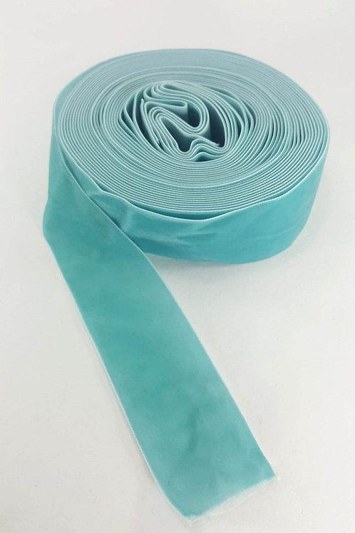 Velvet ribbon-light blue 5cm