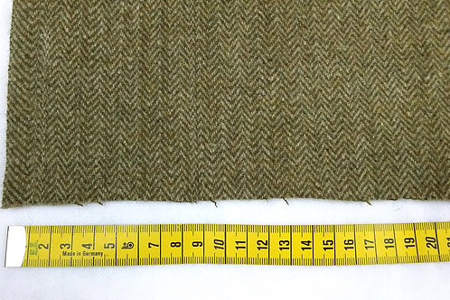 Herringbone wool fabric 60%-green