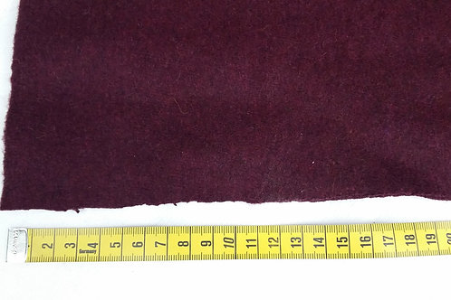 Recycled broadcloth-plum