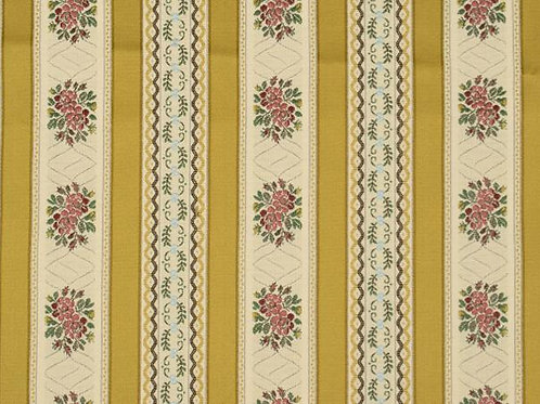 Cotton/poly upholstery fabric- yellow