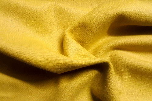 Wool twill-Bright yellow
