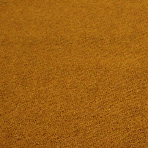 Wool twill-mustard