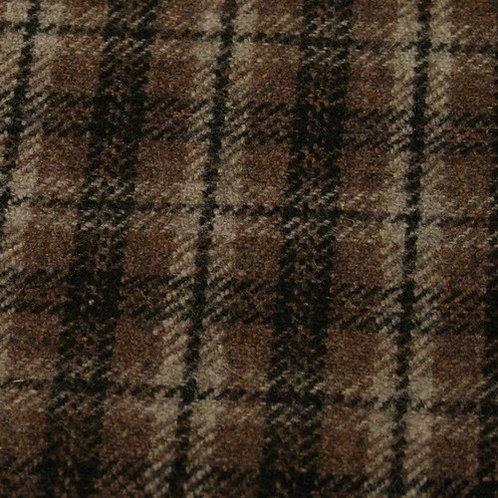 Fabric swatch-tartan 60%wool