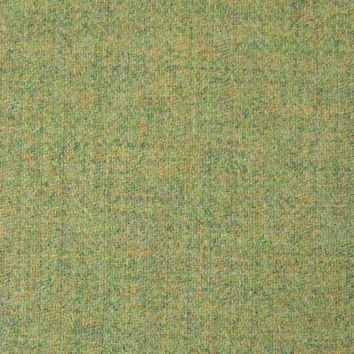 English wool herringbone-light green