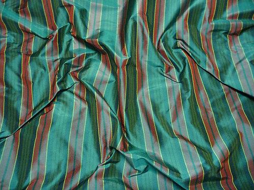 Stripe-green brown