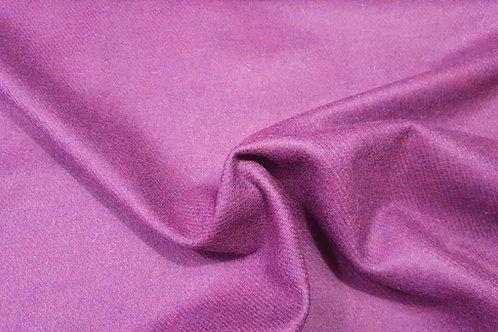 Melange wool twill- purple pink 23