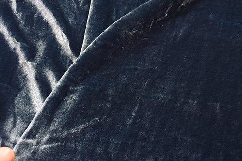 Silk Velvet-Steel blue