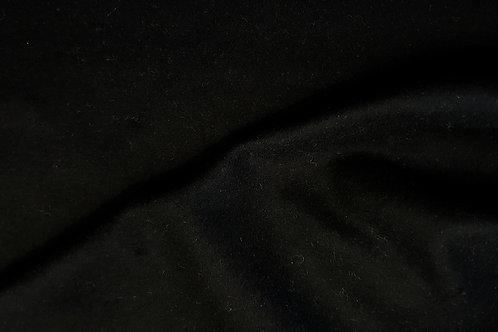 1,4m PIECE Doe skin melton-black A