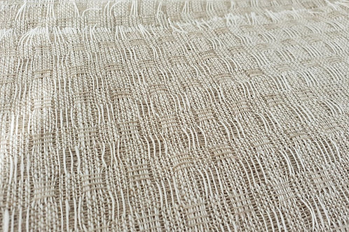 Towel linen-small checks
