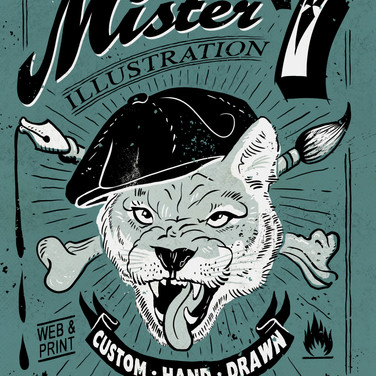 Puma Mister 7 Illustration Mr Seven Graphic Design Berlin