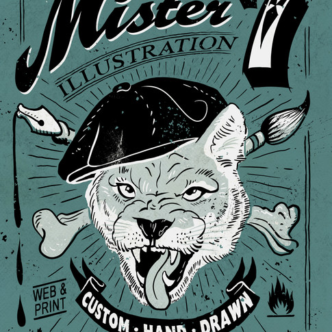 Puma Mister 7 Illustration Mr Seven Graphic Design Berlin