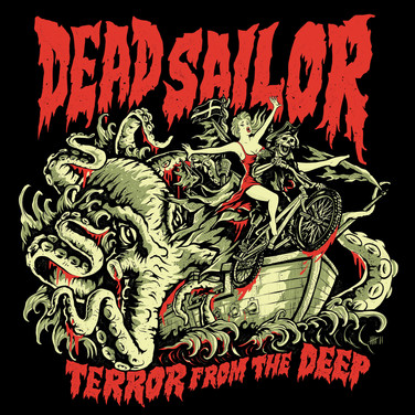 Dead Sailor BMX Cornwall Mister 7 Illustration Mr Seven Graphic Design Berlin