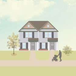 Townhome Elevation