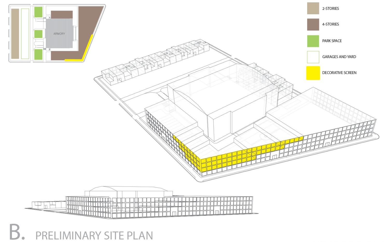 Preliminary Site Plan B