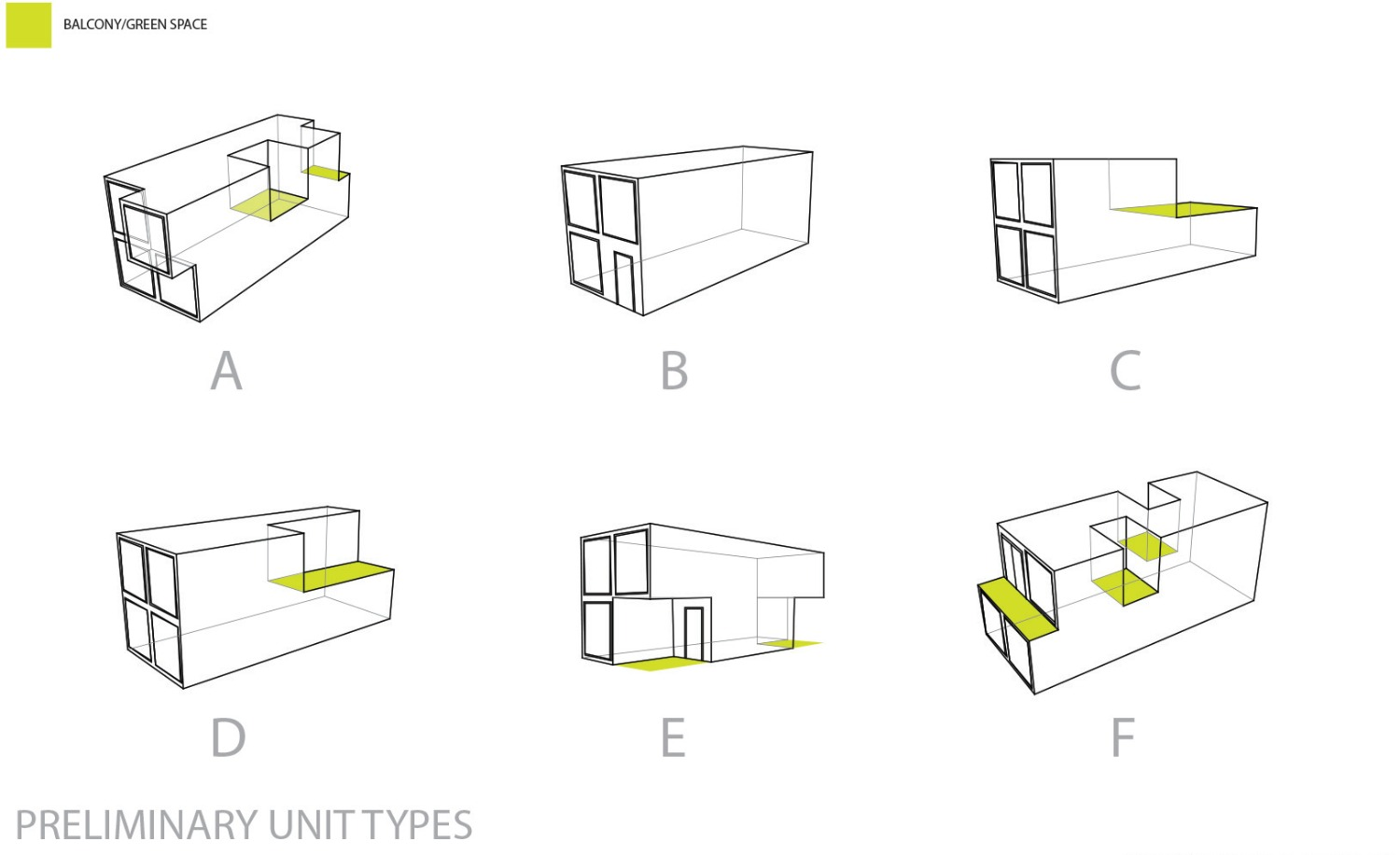 Preliminary Unit Types