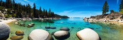 Crystal Clear Secret Cove Panorama