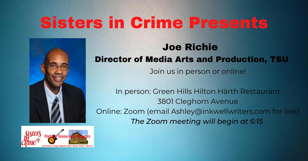 Joe Richie Director of Media Arts and Pr