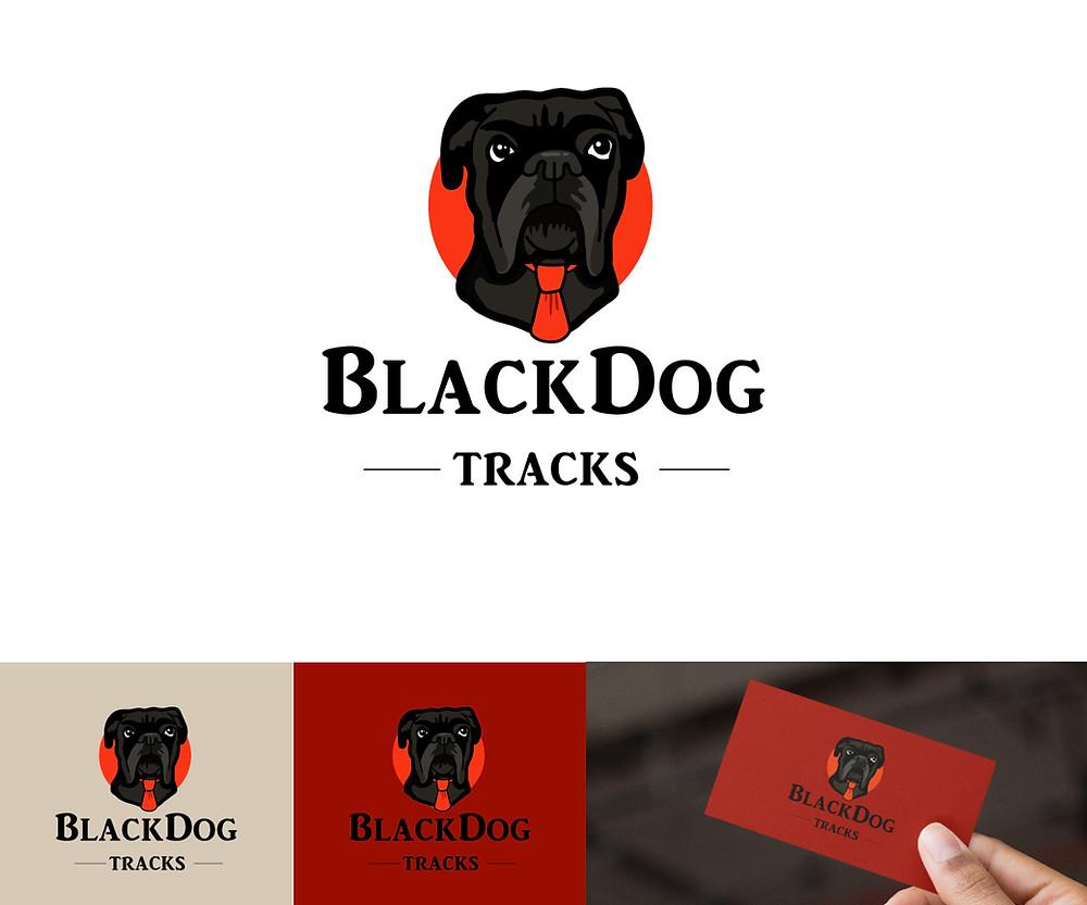 Dog pet logo design