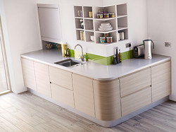Kitchen 3D visualisation services.