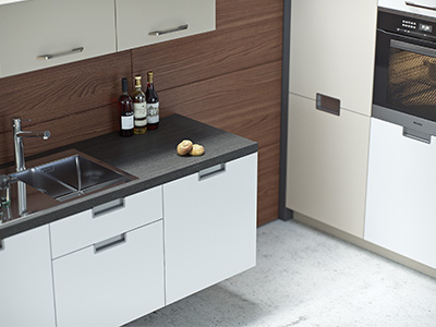3D visualisation of a kitchen detail