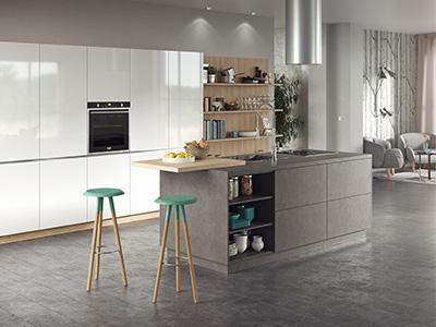 Kitchen photorealistic render.