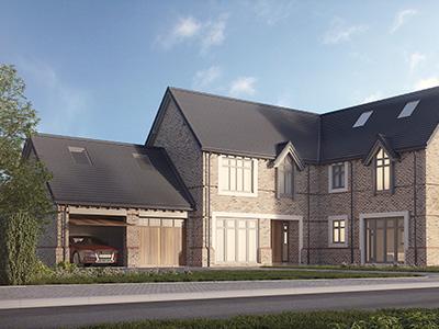 Property development rendering.