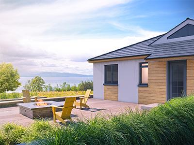 House photorealistic render.
