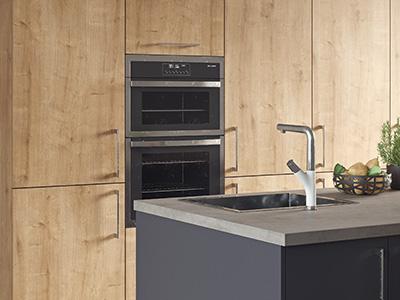 Kitchen high-end 3D visualisation.