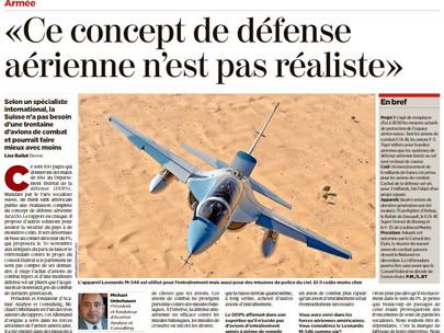 24 Heures Swiss-French Newspaper Interviews Acamar About Air2030