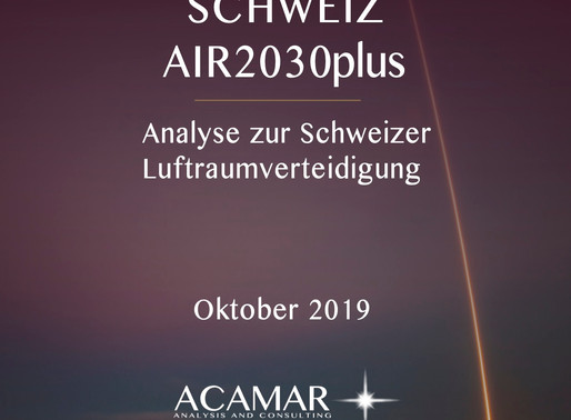 """Acamar's Latest Study: """"Air2030plus"""""""