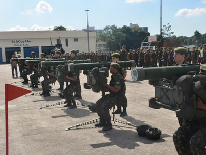 The Coastal Artillery and Air Defense School in Brazil
