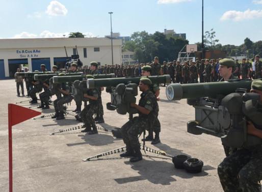 The Coastal Artillery and Air Defense School in Brazil
