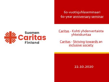 Caritas - Kohti yhdenvertaista yhteiskuntaa