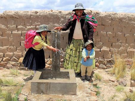 Puhdasta vettä Bolivian vuoristokyliin