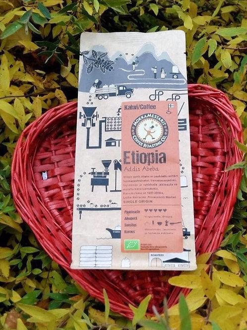 Etiopia Addis Abeba -luomukahvi